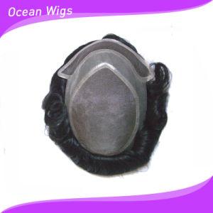 Monofilament Lace Toupees (TP-010) pictures & photos