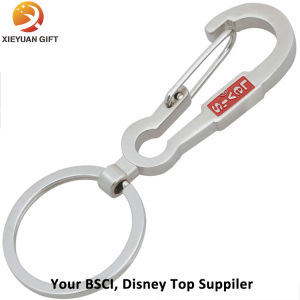 Making Engraved Logo Carabiner Keychain Wholesale pictures & photos