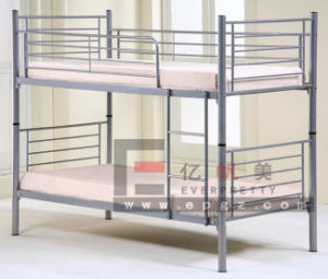 Student Dormitory Metal Frame Steel Frame Bunk Bed pictures & photos