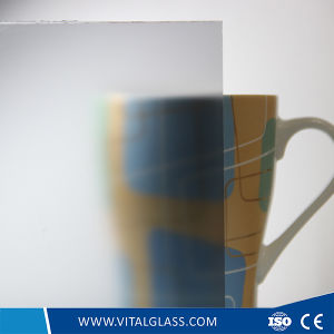 4-10mm Acid Etched Glass Tempered Figured/Pattern Glass pictures & photos