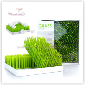 Plastic Round/Square Countertop Baby Bottle Lawn Grass Drying Rack pictures & photos