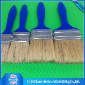 Made in China Good Paint Brushes with Blue Plastic Handle pictures & photos