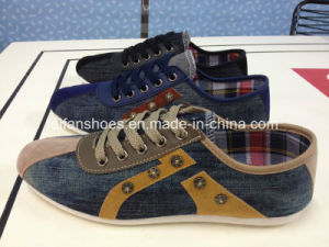 New Style Men Breathable Canvas Running Shoes Casual Shoes (LG0519-12) pictures & photos