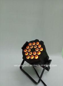 Indoor 18X12W RGBWA DMX Stage LED PAR Light pictures & photos