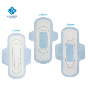 230mm Breathable Free Sample Disposable Lady Sanitary Pad with Wings for Day Use pictures & photos