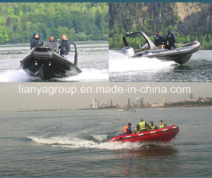 Liya 4.7m Water Rescue Inflatable Boat for Sale pictures & photos