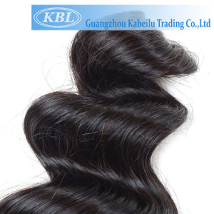 Grade 3A Indian Human Hair Weave pictures & photos