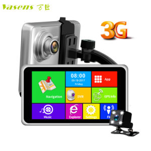 3G WiFi GPS Navigation 1080P 5 Inch Back up Car Camera Dash Cam pictures & photos