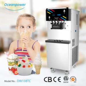 Floor Standing Ice Cream Maker Price (Oceanpower DW138TC) pictures & photos