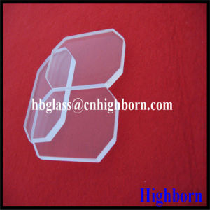 Manufacurer Coner Cut Quartz Glass Sheet pictures & photos