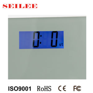 180kg Backlit Small LCD Digital Personal Scale with ABS Housing pictures & photos