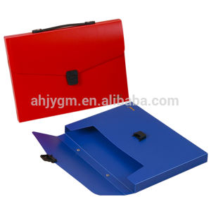 A4 Solid Color PP Document Case pictures & photos