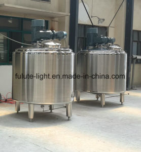 Food Grade Stainless Steel Steam Heating Mixing Tank pictures & photos
