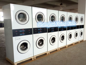 High Quality Double Deck Washer and Dryer pictures & photos