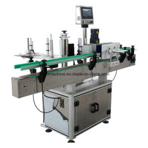 Automatic Round Bottle Square Bottle Glass Bottle One Side 2side Adhesive Labeling Sticker Machine pictures & photos
