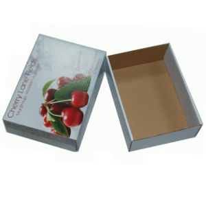 Cherry Color Printing Box Customized Size Box pictures & photos