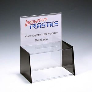 Wholesale Clear Acrylic Plexiglass Suggestion Box pictures & photos