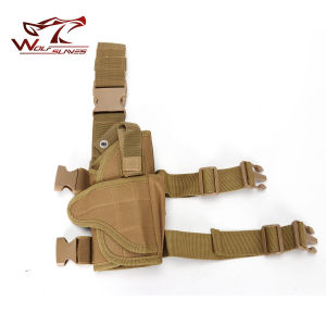 Tactical Tornado Drop Leg Pistol Holster Military Gun Holster pictures & photos
