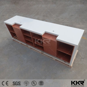 Kkr Solid Surface Office Reception Furniture Reception Desk Design pictures & photos