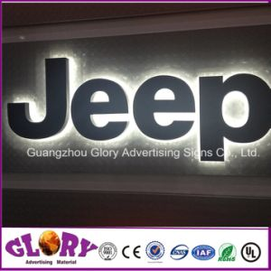 Brand Steel Letters Back Light Car Logo Signs/3D Car Logo pictures & photos