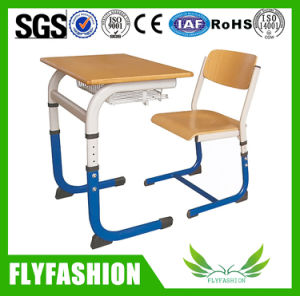 School Furniture Student Study Desk and Chair for Classroom Used (SF-53S) pictures & photos