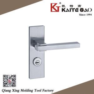 (KTG-5712-014) Satin Finish 304 Stainless Steel Hollow Modern Door Lock pictures & photos