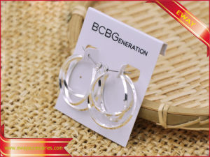 PVC Hanger Card Jewelry Card Earring Card pictures & photos