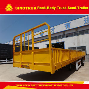 50ton Truck Trailer Tri-Axle Sinotruk Cargo Semi Trailer pictures & photos