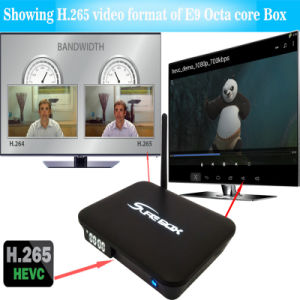 High Quality E9 Amlogic S912 2.4G 5.8g WiFi TV Box pictures & photos