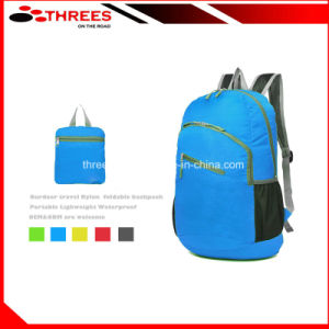 outdoor Travel Nylon Foldable Backpack (1504008) pictures & photos
