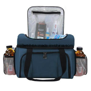 Insulated Compartment Outdoor Travel Lunch Cooler Bag pictures & photos