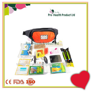 Wholesale Outdoor Travel Medical Emergency Survival First Aid Kit(pH075) pictures & photos