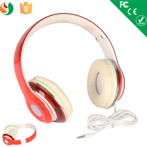 Popular Foldable Wired Headphone for Computer pictures & photos