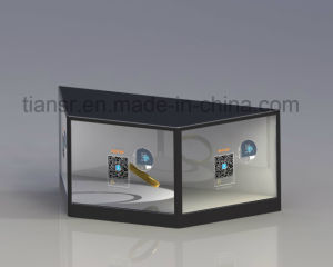 12inch Three Sides Transparent Display Stand with Viewing Angle Free