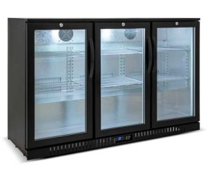 One Door Black Bar Cooler (BH-108H) pictures & photos