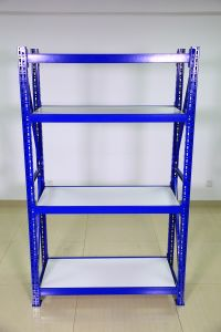 Steel Long Span Racking with Shelving Board pictures & photos