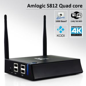 K2 Amlogic S812 Quad Core CPU 2g RAM Android 4.4 TV Box with HD-Mi pictures & photos