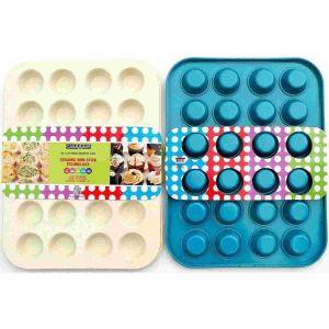 Amazon Vendor Ceramic Coated Nonstick Mini Muffin Pan 24 Cups pictures & photos