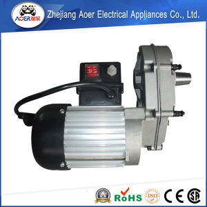 AC Single Phase Gear Small Electric Motor Low Rpm with Reducer pictures & photos