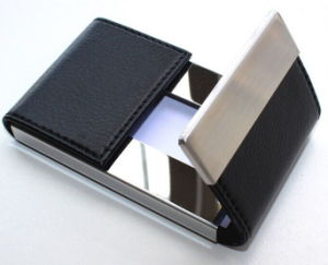 Card Box Name Card Holder for Office pictures & photos
