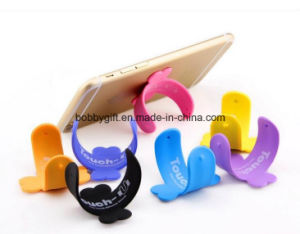 Adertising Cellphone Accessories Silicone Support Holder pictures & photos