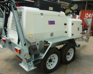H1000 AC Three Phase Mobile Light Tower Generator Set with Perkins