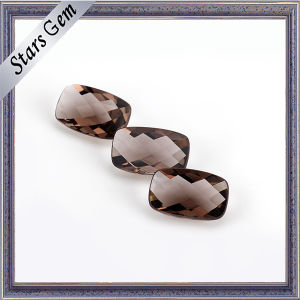 Brilliant Polishing Cushion Checker Cut Glass for Jewelry pictures & photos