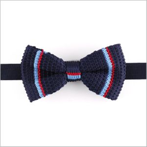 High Quality Men′s Polyester Knitted Bow Tie (YWZJ 66) pictures & photos