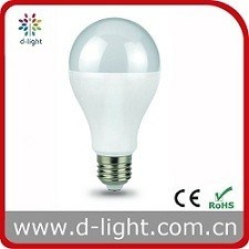 Pear E27 B22 Standard Ra>80 PF>0.5 Plastic Aluminum SMD2835 Warm White Nature White Cool White IC A60 12W LED Bulb pictures & photos