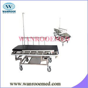 Stainless Steel Transfer Transport Stretcher pictures & photos