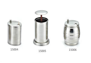 Stainless Steel Automatic Toothpick Holder for Hotel Restaurant (15004/15005/15006) pictures & photos