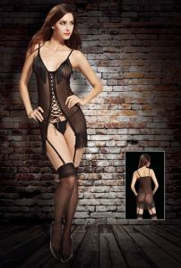 Sexy Lingerie Bodystocking with Tassels Design 8957 pictures & photos