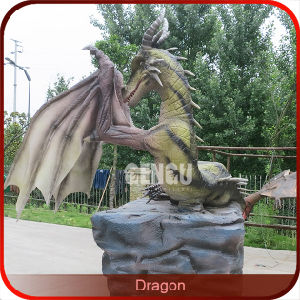Animatronic Chinese Dragon Garden Statues Chinese Dragon Garden