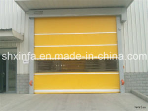 Automatic Fast Rolling Door for Industrial Plant
